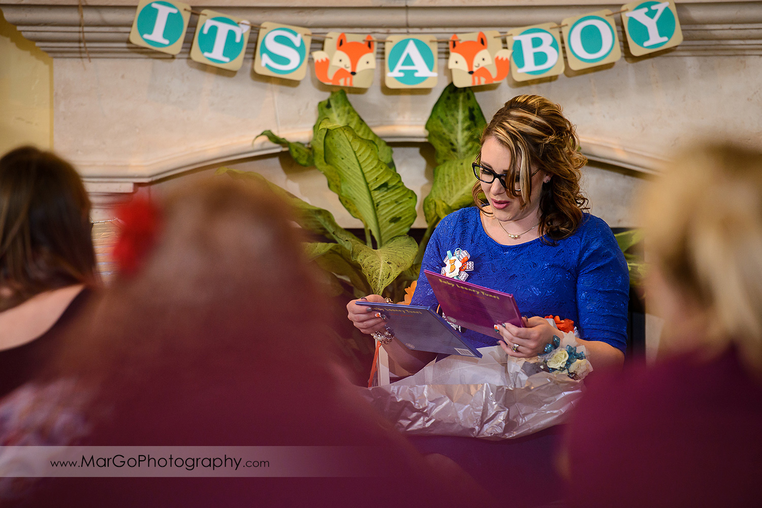 unacking baby shower books, Windmill Ridge Winery