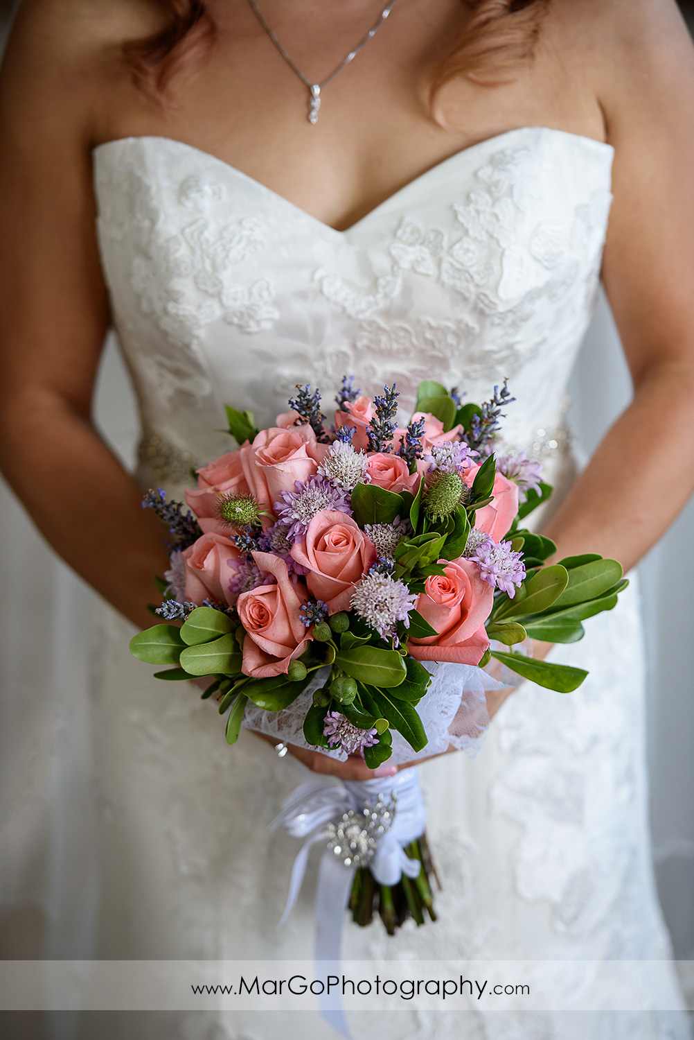 bridal bouquet at Mavericks Event Center in Half Moon Bay