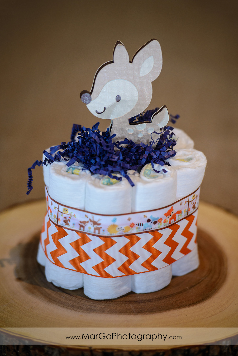 baby shower fawn centerpiece, Windmill Ridge Winery