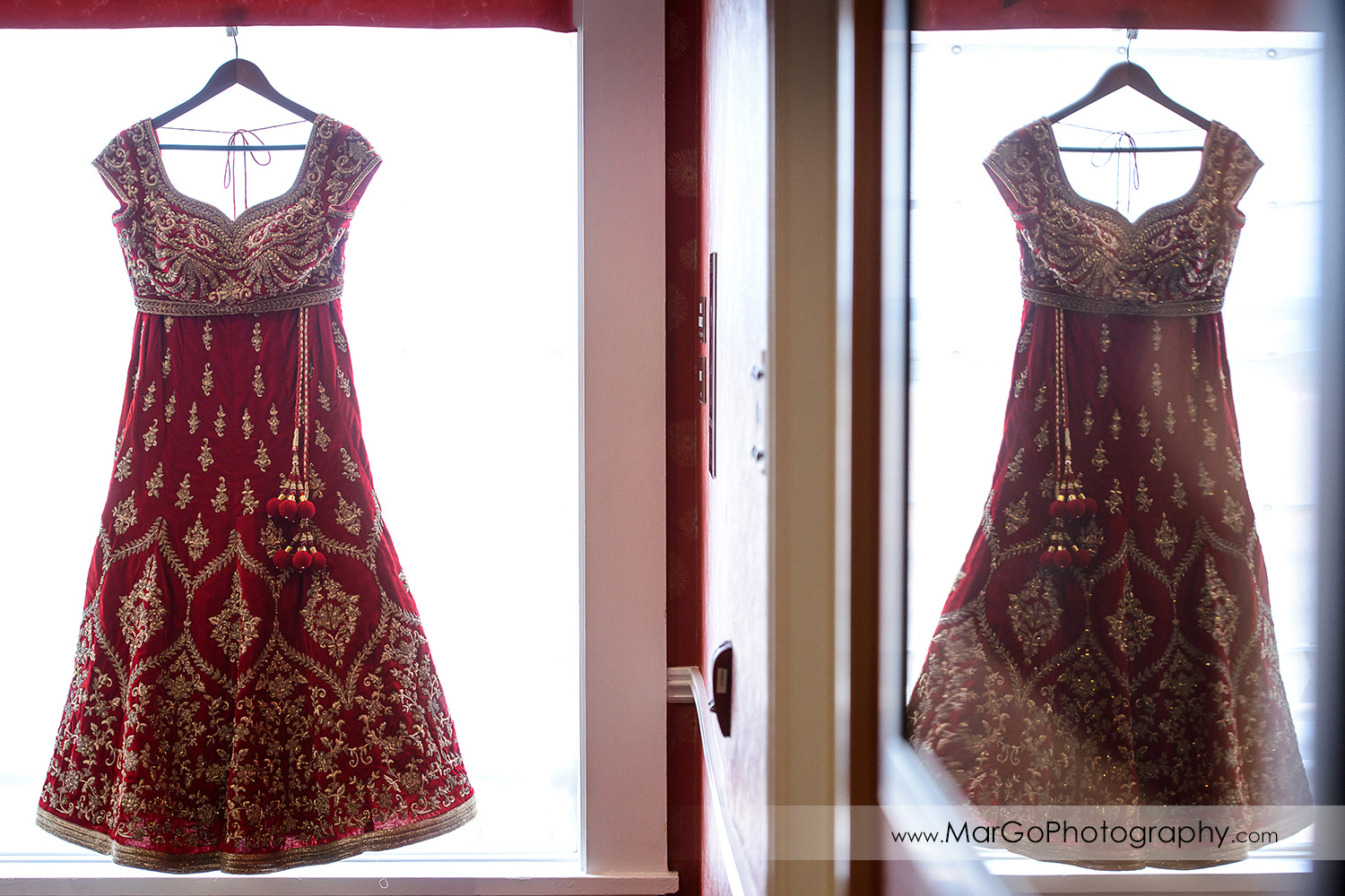 indian wedding dress at Hotel Shattuck Plaza in Berkeley