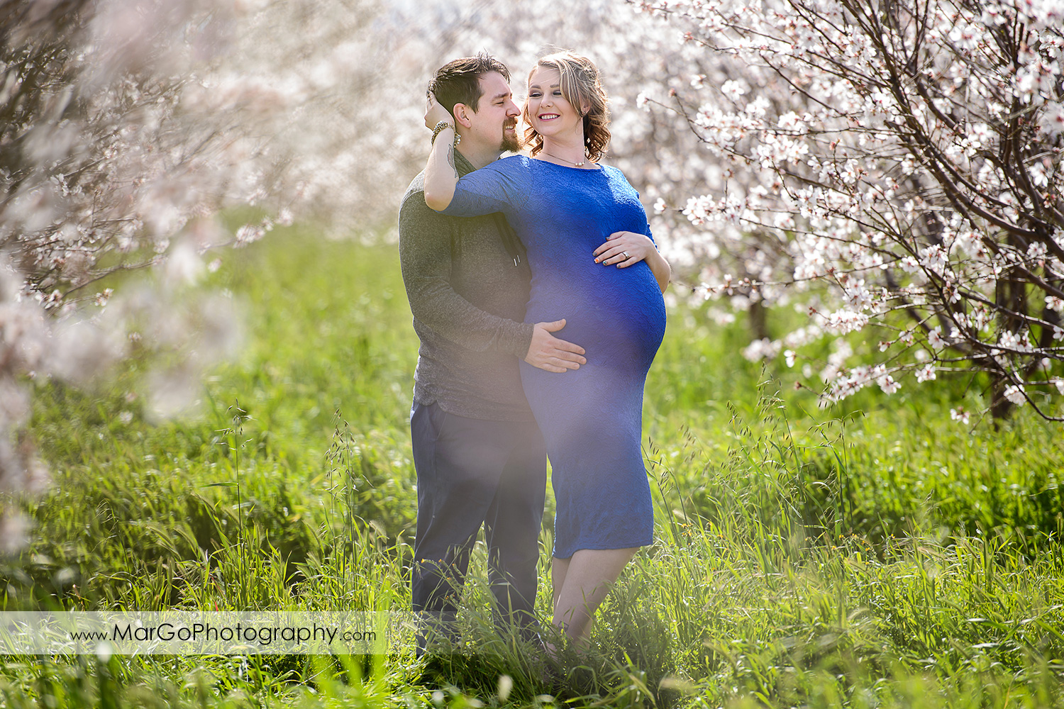 couple pregnancy portrait, Tracy orchard maternity session