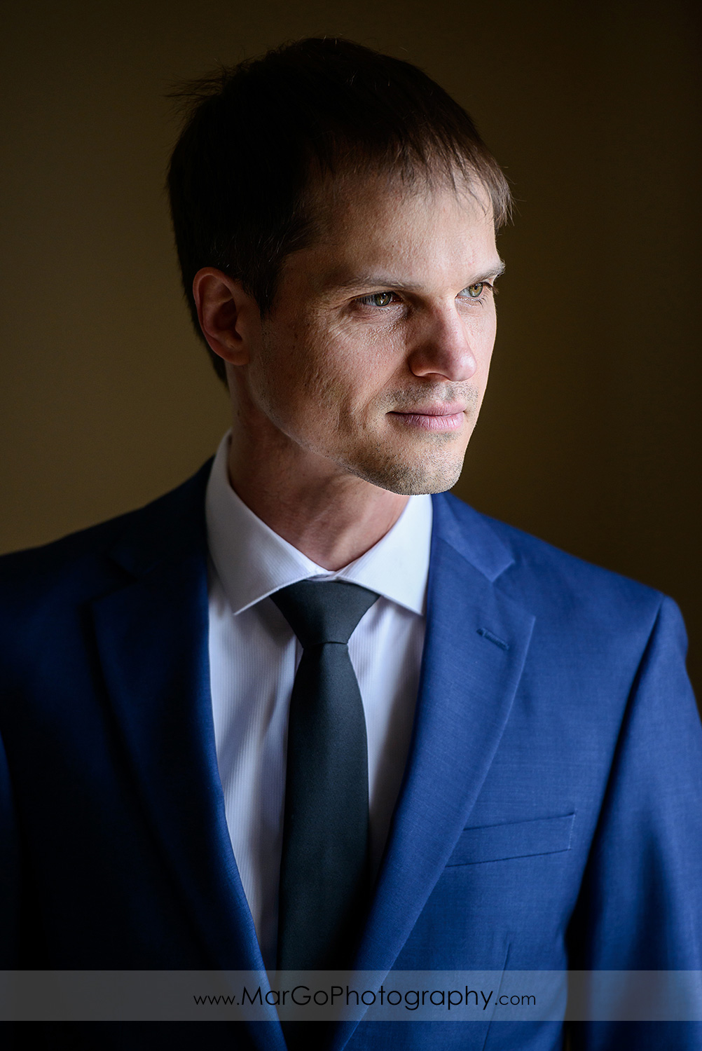 portrait of the groom at Berkeley City Club