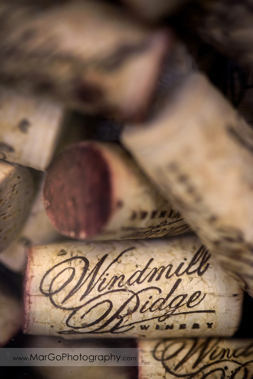 Windmill Ridge Winery wine corks
