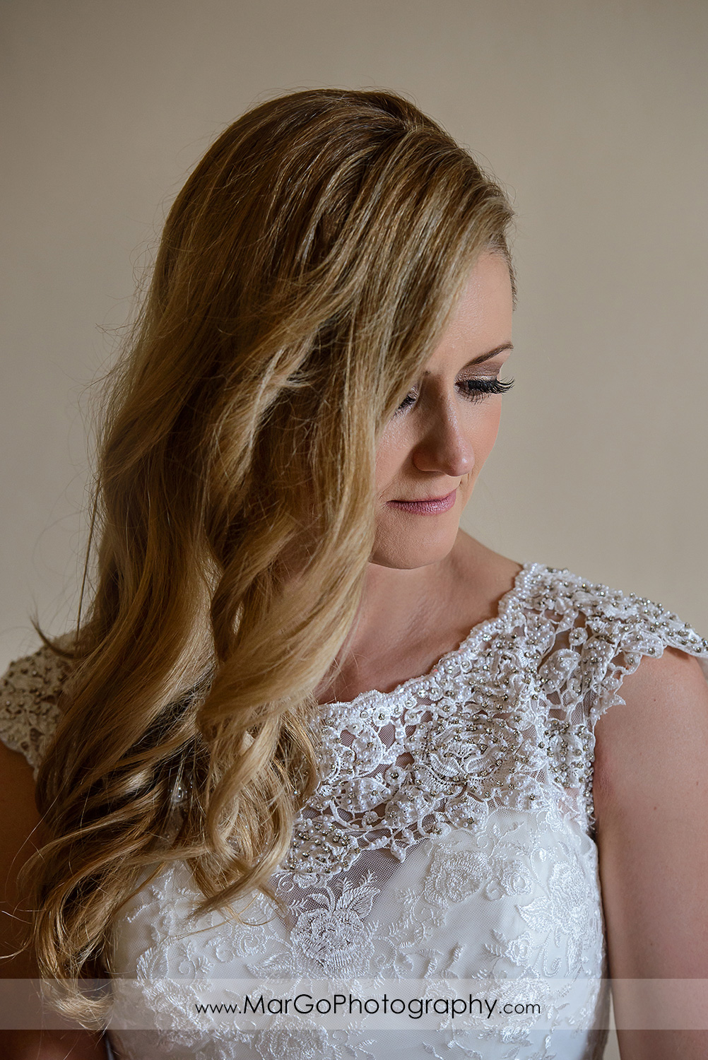portrait of the bride at Berkeley City Club