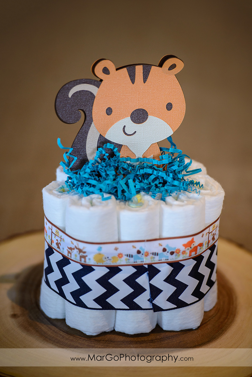 baby shower squirrel centerpiece, Windmill Ridge Winery
